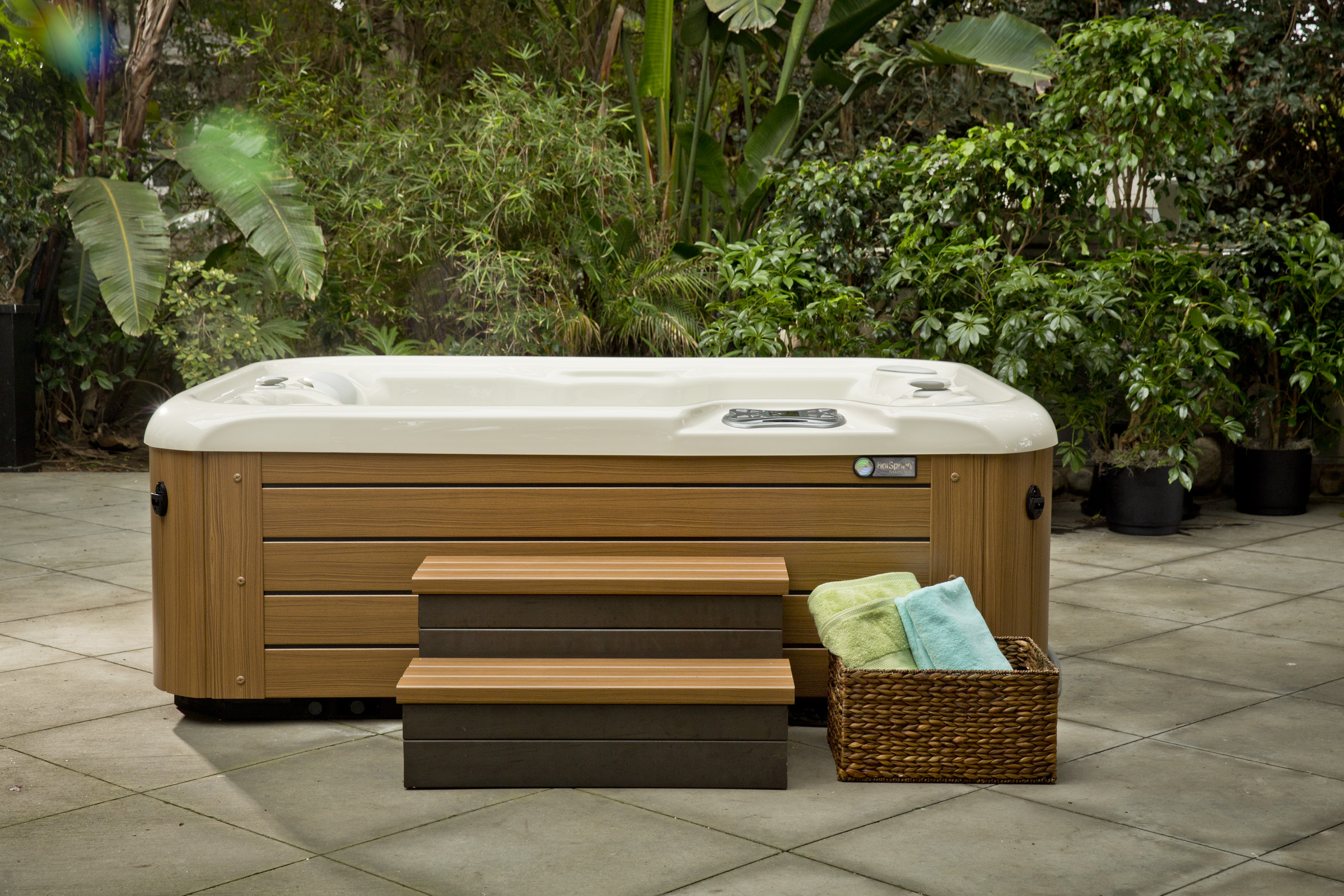 Hot Spring Highlife Jetsetter 3 Person Hot Tub - Gallery
