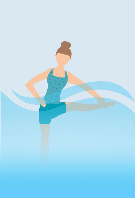 Hottub Yoga - Grab Pose