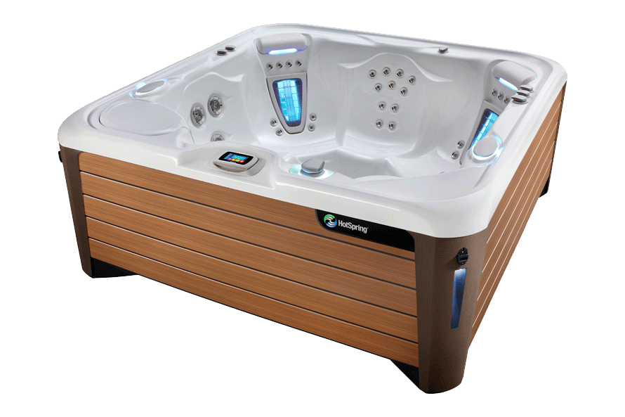 Vanguard NXT Hot Tub from HotSpring Spas - Pioneer Family Pools