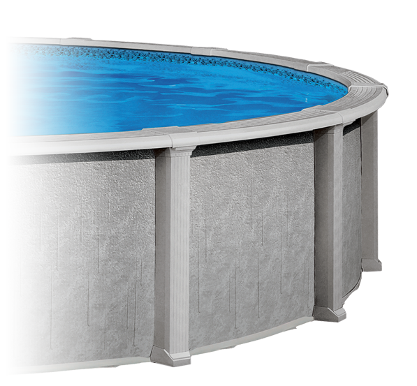 The Sentinel Above Ground Pool by Aqua Leader - Pioneer Family Pools