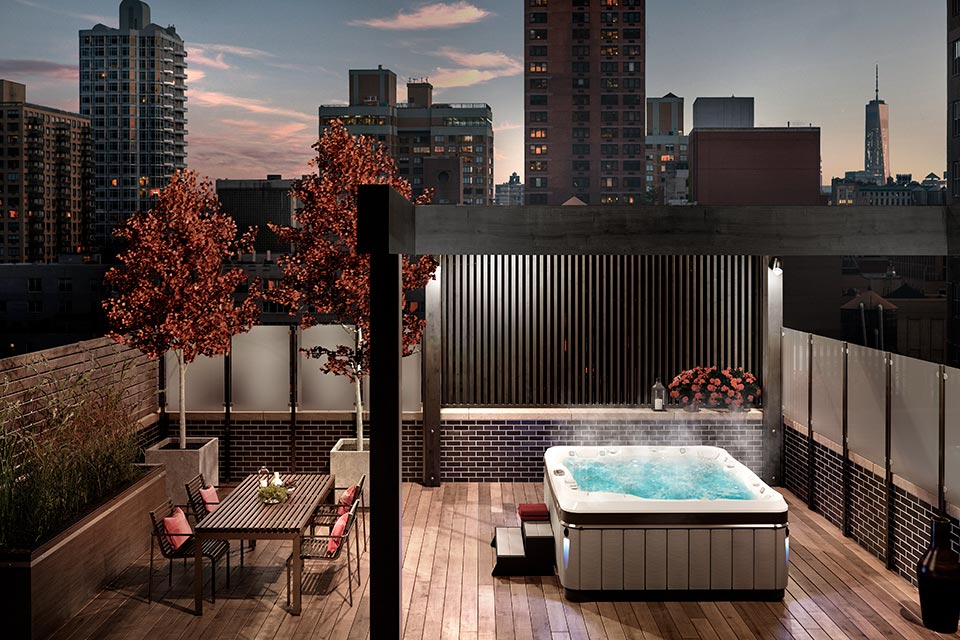 Cityscape Townhouse Living