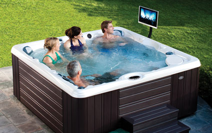 how much is a hot tub going to cost to operate. Black Bedroom Furniture Sets. Home Design Ideas