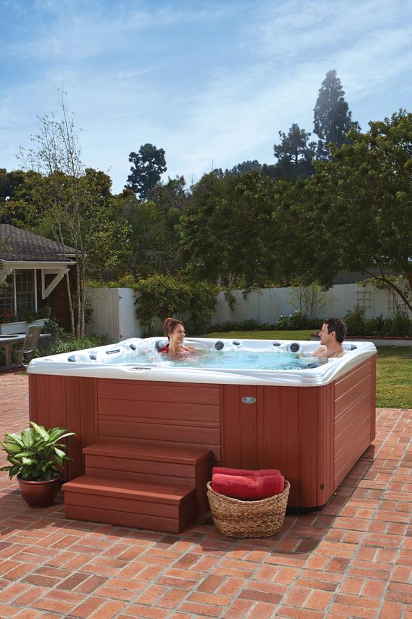 Caldera Paradise Makena 6 Person Hot Tub - Gallery