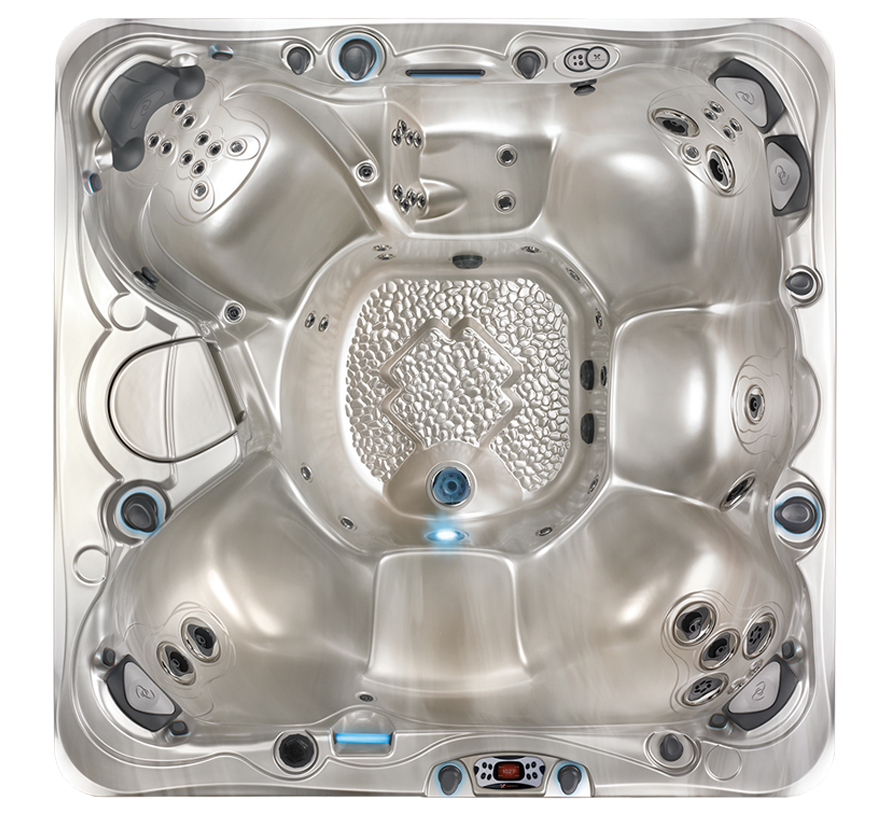 Caldera Utopia Niagara Hot Tub Overhead View