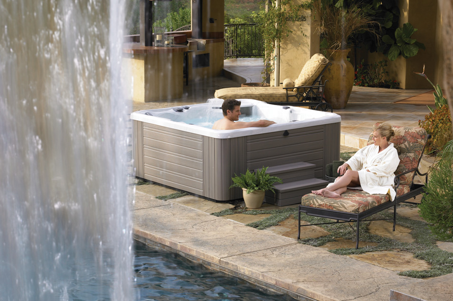 Caldera Utopia Tahitian 6 Person Hot Tub - Gallery