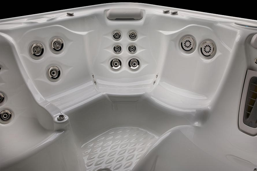 Hot Spring Highlife Envoy NXT 5 Person Hot Tub - Gallery