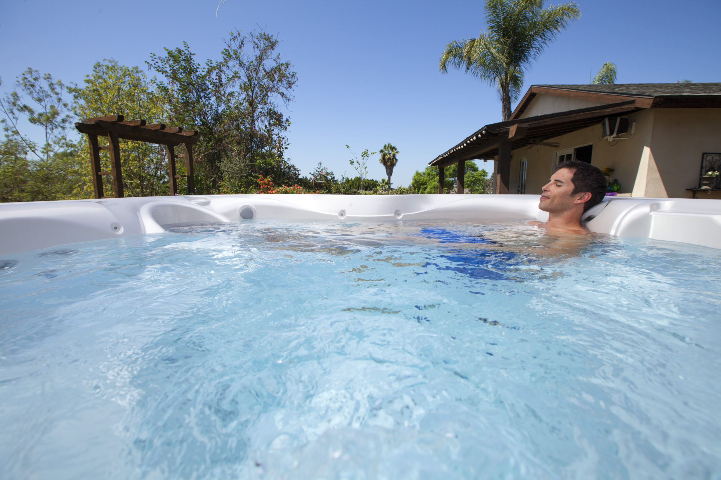 Hot Spring Hot Spot Tempo 6 Person Hot Tub - Gallery