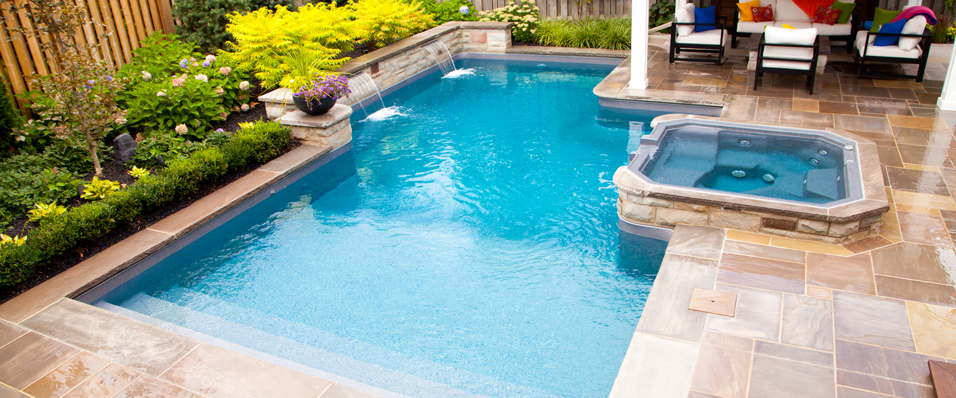 Inground onground and above ground pools pioneer pools for How to design a pool