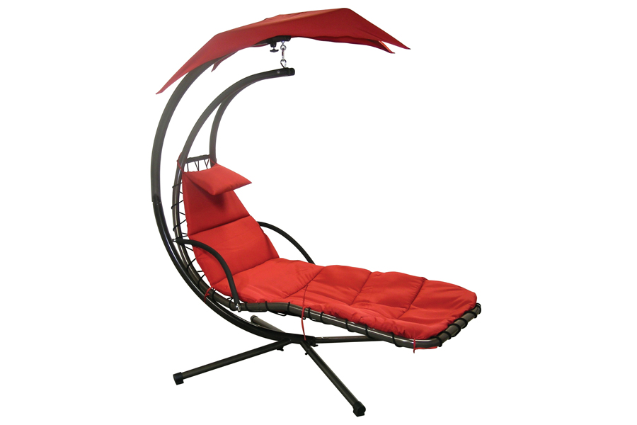 Dream Chair Hammock in Lush Red