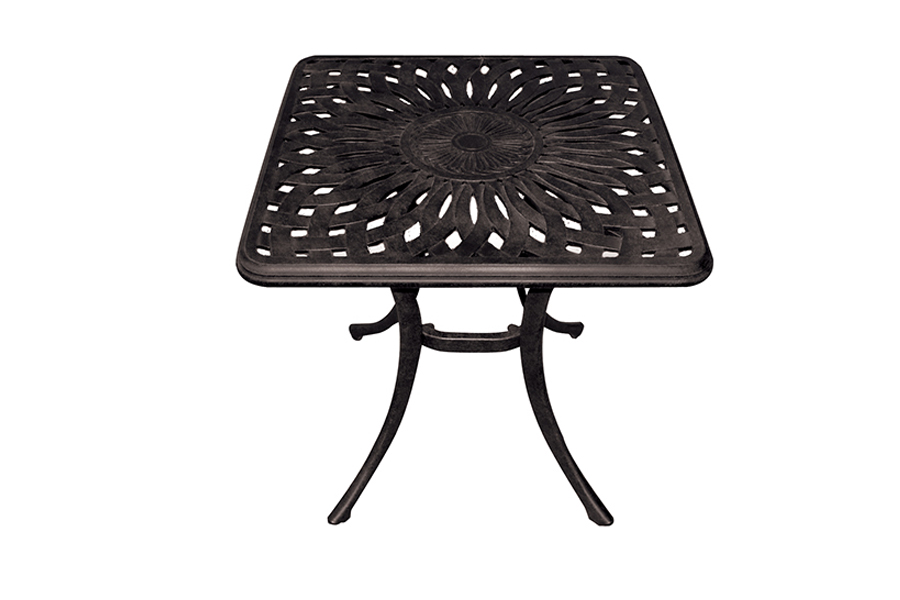 "Elizabeth 21"" Square Patio Side Table"