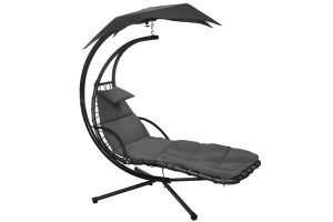Dream Chair with Canopy Grey