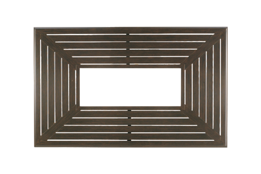 "Farnham 36"" x 58"" Slatted Fire Pit Top WF3658SCR"