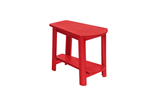 Addy Side Table Red