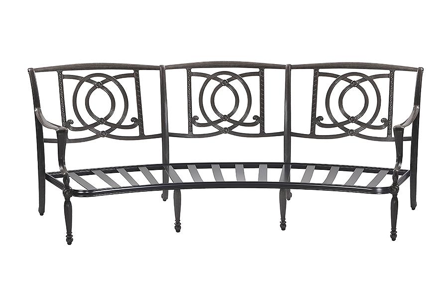 Bel Air Curved Sofa Frame 1099CV23