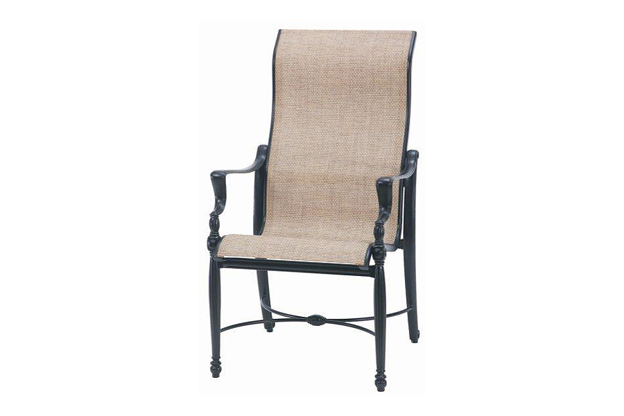 Bel Air High Back Sling Dining Chair
