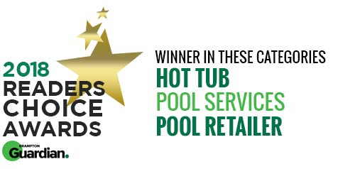 2018 Brampton Guardian Reader's Choice Award - Pool Retailer