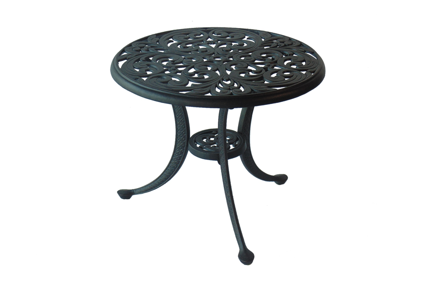 "Central Park Chateau 21"" Round Tea Table"