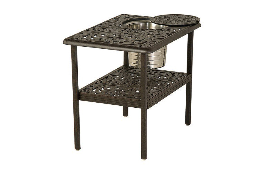 Chateau 28x20 Ice Bucket Table