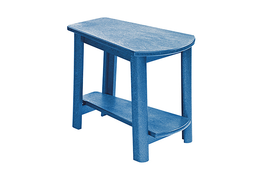 25″x17″ Addy Side Table Blue