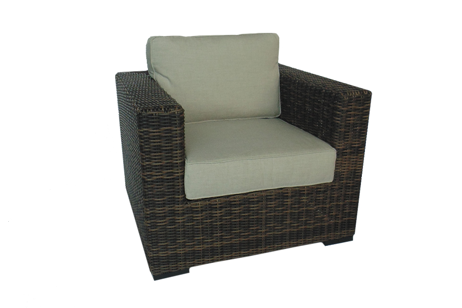 Greenville Brown Lounge Chair