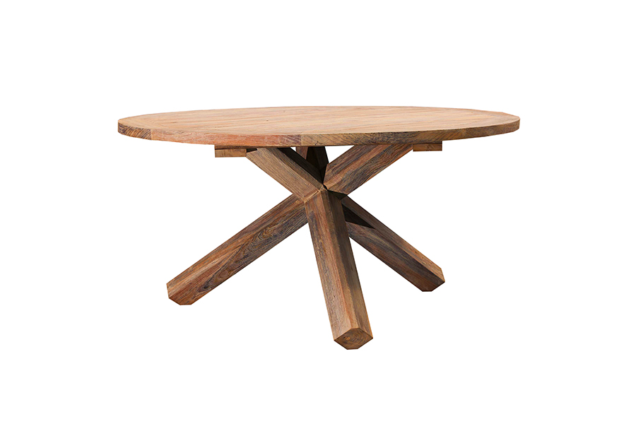 Indo Recycled Teak Dining Table