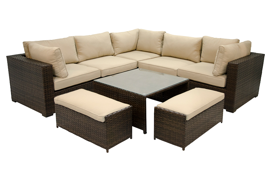 Maldives Deep Seating Sectional