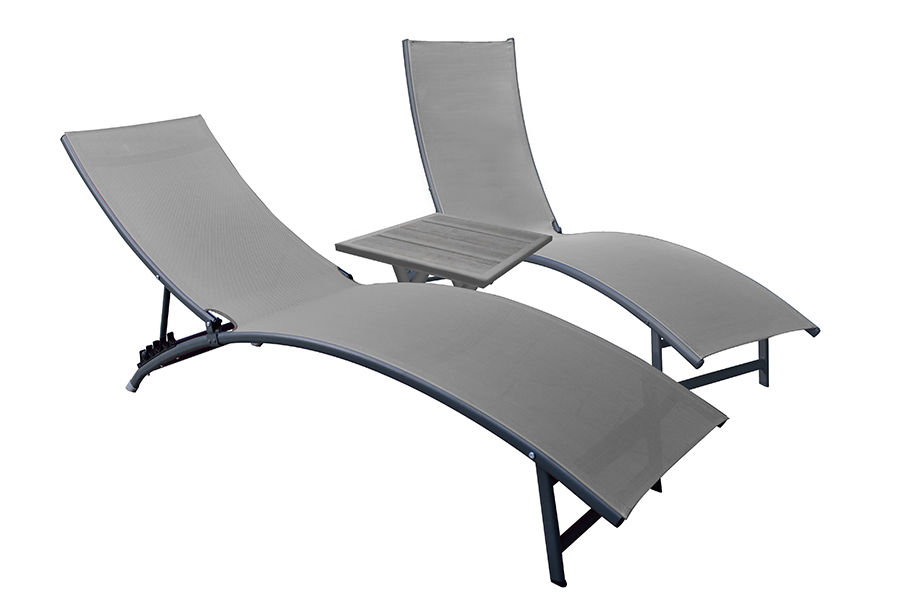 Midtown Chaise Lounge Set