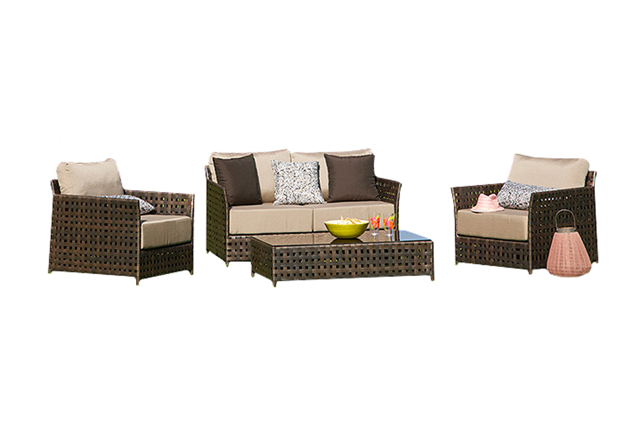 Monza Deep Seating Patio Set