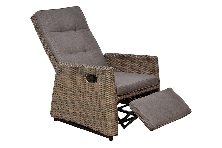 Princess Swivel Club Lounge Chair with Footrest