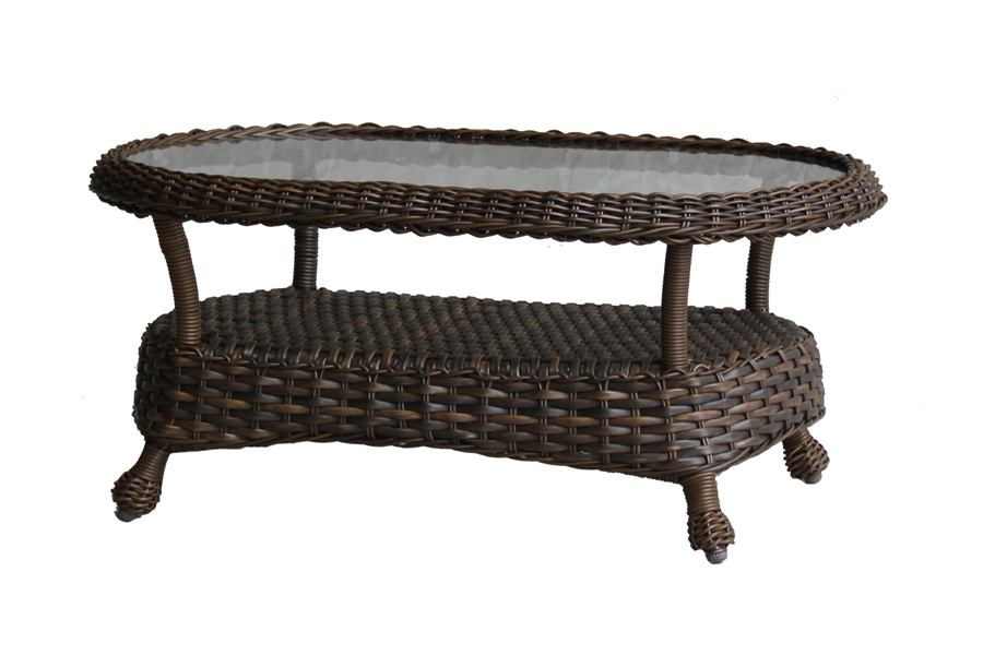26″x 46″ Oval Coffee Table