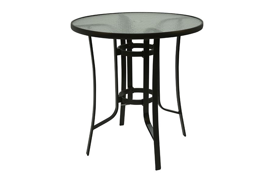 Bronze 42″ Round Balcony Table