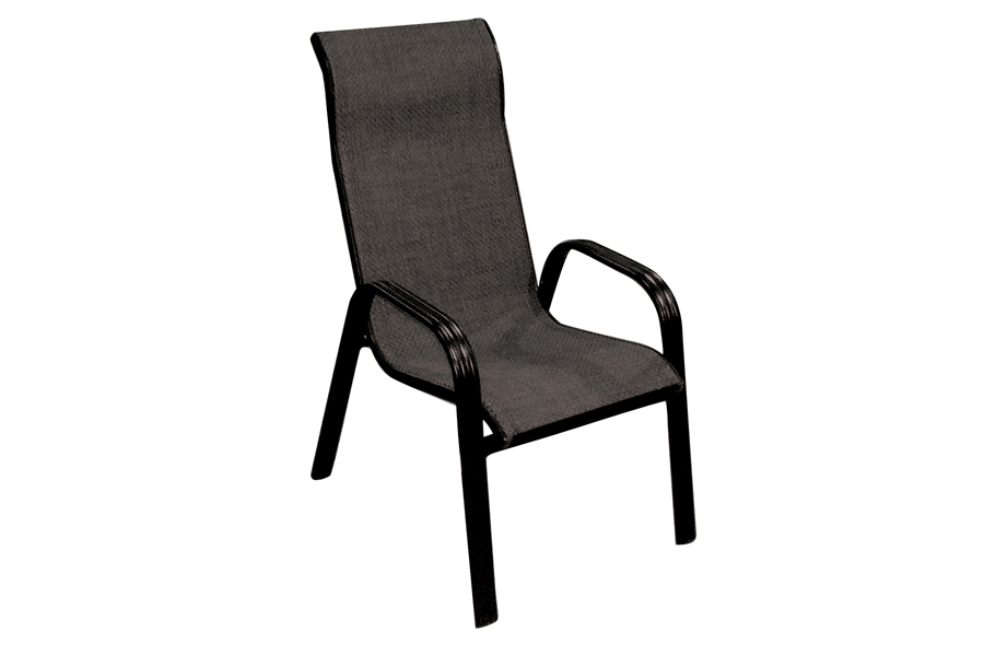 Black Sling Dining Chair