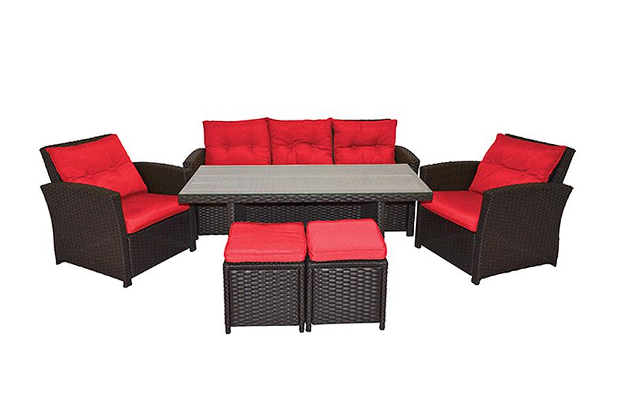 Santana Deep Seating Patio Furniture Set