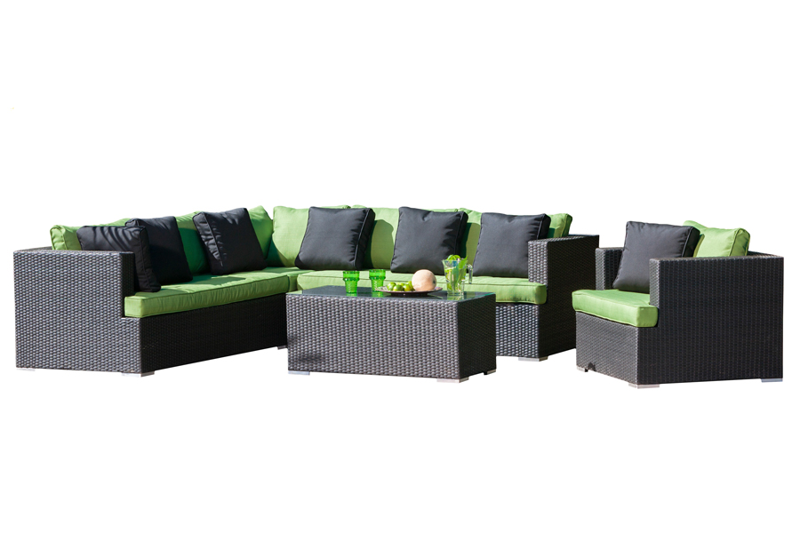 Sonoma Sectional Sofa, Club Lounge Chair, and Coffee Table