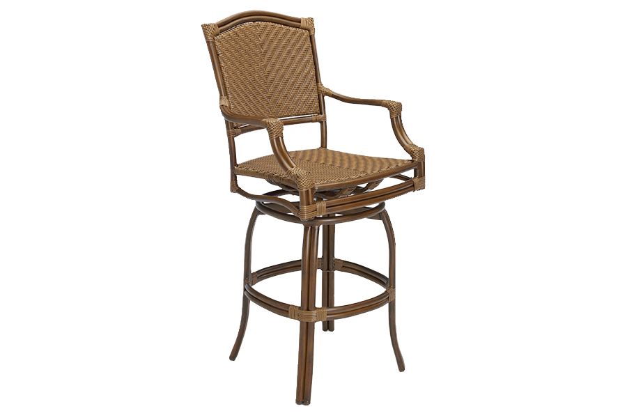 St. Croix Swivel Bar Stool