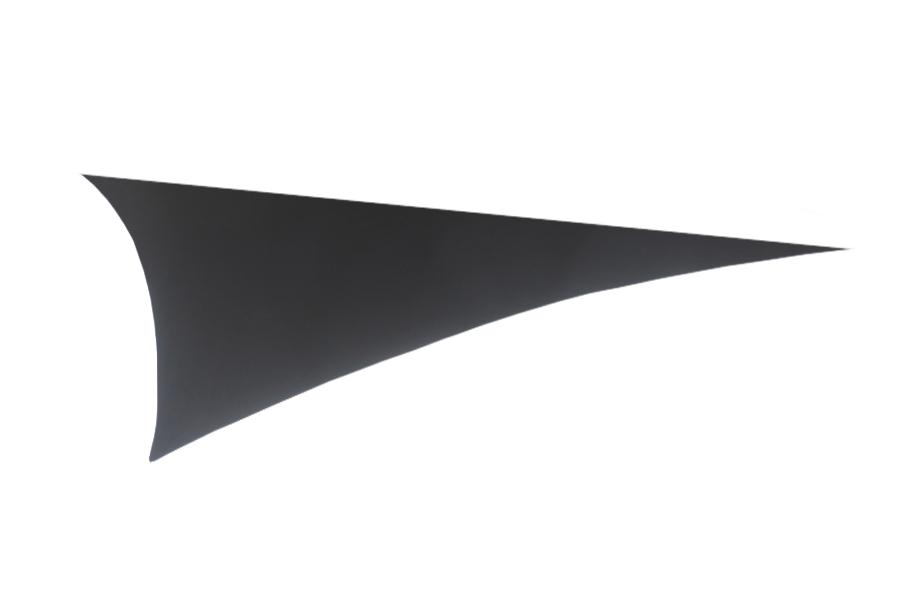 Black Triangular Sail