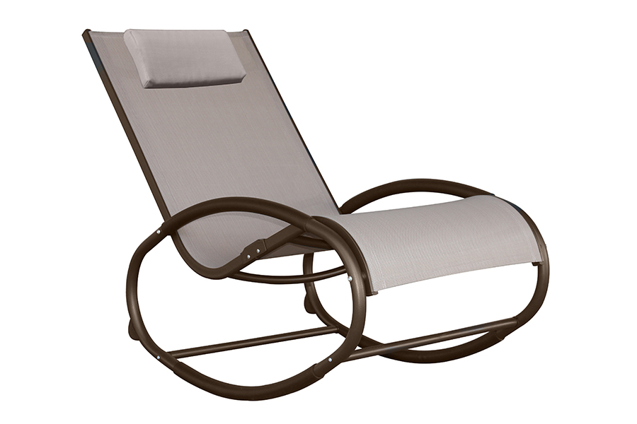 Wave Rocker Sling Lounge Chair