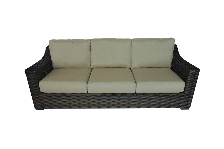 West Lake Brown Sofa