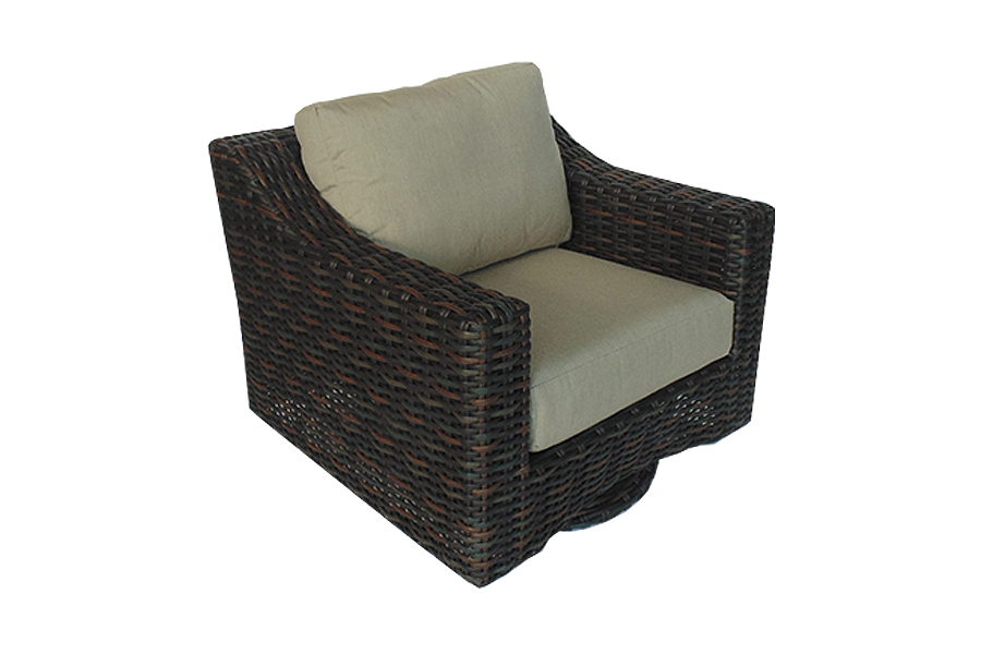 large chair chaise and loungers pioneer family pools 16353 | west lake swivel lounge chair brown