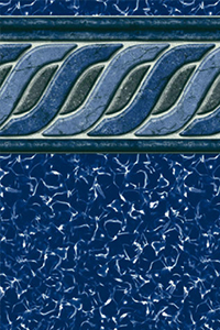 Latham Above Ground Liner Stock Beaded Emerald Tile