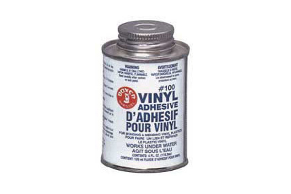 100 Vinyl Repair Adhesive 4 Oz.
