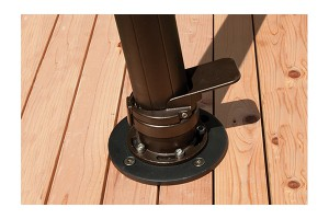 Wood Deck Umbrella Mounting Kit AMKW