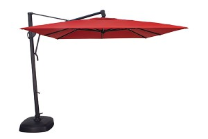 Treasure Garden 11.5' Square Suspension Umbrella