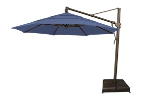 Treasure Garden 13' Octagonal Suspension Umbrella AKZ13