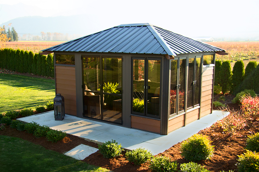 Barcelona 11 X14 Enclosed Gazebo Made In Canada We