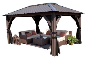 Visscher Verona Gazebo Front View