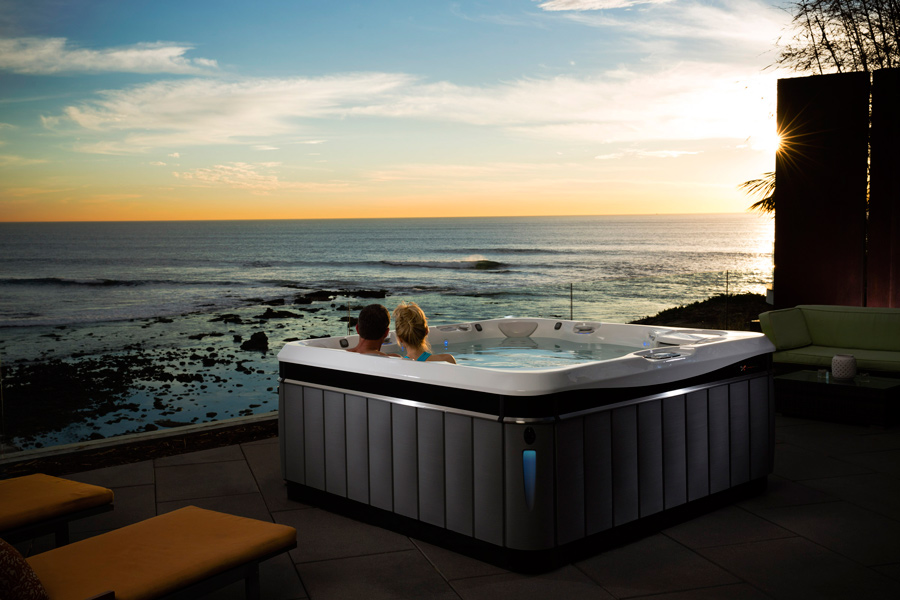 2016 Caldera Utopia Tahitian Hot Tub - Pioneer Family Pools - Gallery