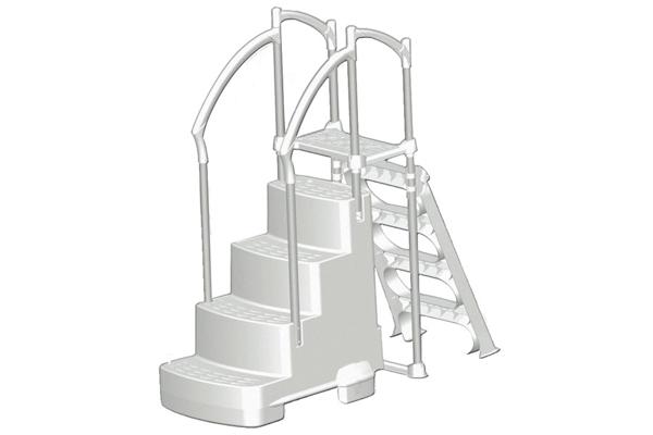 InnovaPlas Fiesta Drop In Step Exterior Ladder