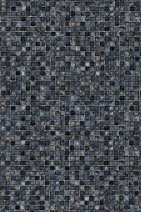 Grey Mosaic Full Pattern Latham Liner