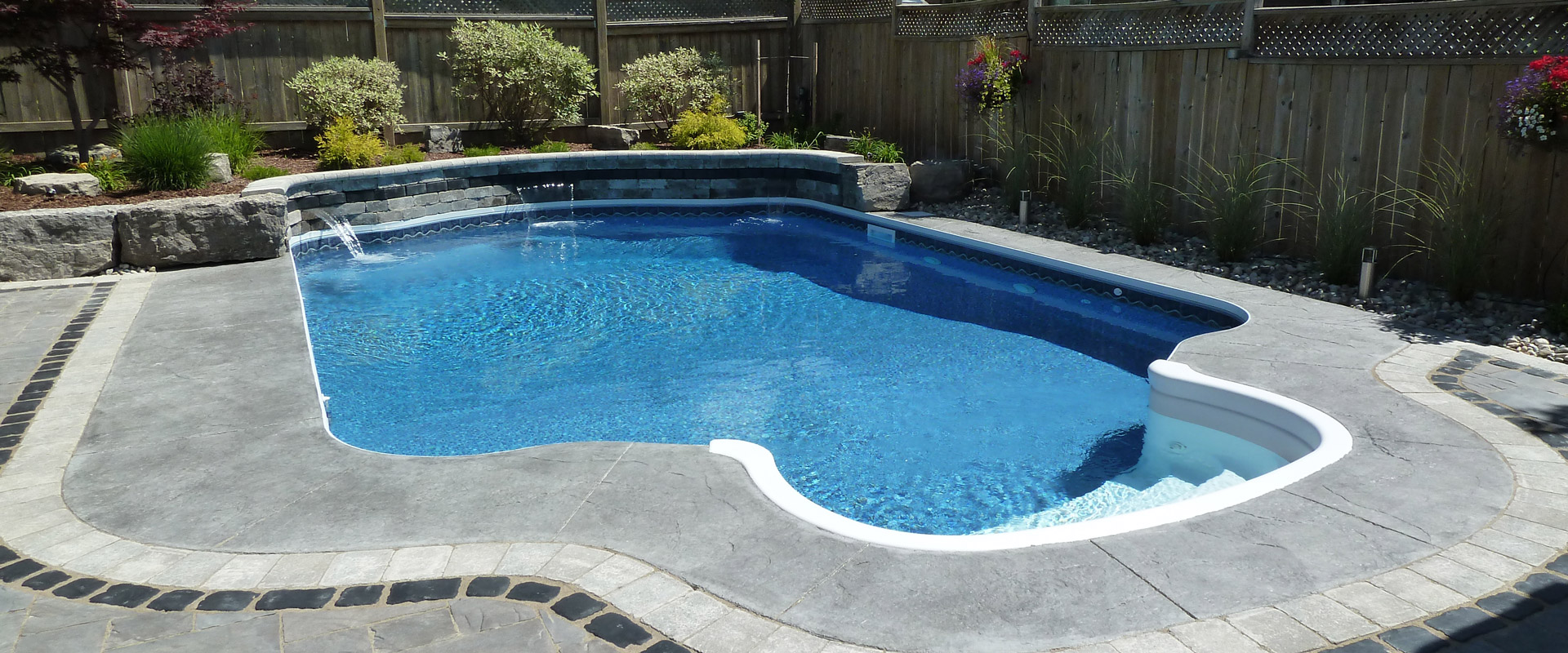 The mavrikkous inground pool showcase pioneer family pools for Pool showcase